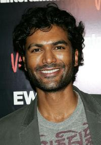 Sendhil Ramamurthy at the Entertainment Weekly and Vavoom's Network Upfront party.