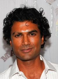 Sendhil Ramamurthy at the Poolside Summer party.
