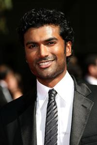 Sendhil Ramamurthy at the 59th Annual Primetime Emmy Awards.