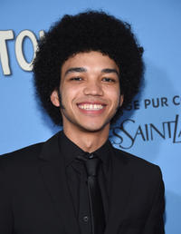 Justice Smith at the New York premiere of