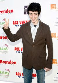 Austin Rogers at the premiere of