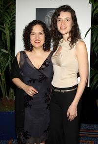 Olga Merediz and Qiara Hudes at the 59th Annual New Dramatists Spring Luncheon.