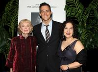 Joyce Randolph, Cheyenne Jackson and Olga Merediz at the 59th Annual New Dramatists Spring Luncheon.