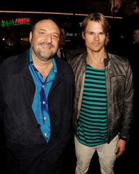 Producer Joel Silver and Brendan Miller at the California premiere of