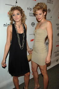 AnnaLynne McCord and Angel McCord at the Season 5 Premiere Of