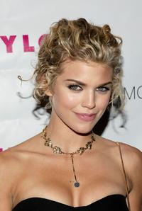 Annalynne McCord at the Nylon Magazine's TV Issue Launch party.