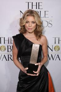 Annalynne McCord at the First Annual Noble Awards.