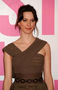 Rebecca Hall at the 56th San Sebastian Film Festival.