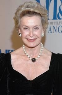 Dina Merrill at the Museum of Television & Radio Annual Los Angeles Gala.