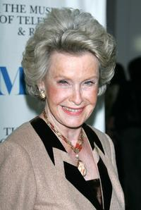 Dina Merrill at the Museum of Television & Radio presentation of