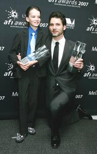 Kodi Smit-McPhee and Eric Bana at the L'Oreal Paris 2007 AFI Awards Dinner.