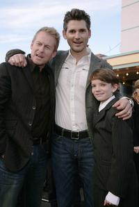 Richard Roxburgh, Eric Bana and Kodi Smit-McPhee at the world premiere of