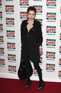 Antonia Campbell-Hughes at the Empire Awards 2009.