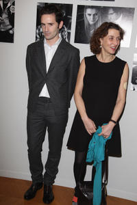 Nicolas Maury and Noemie Lvovsky at the Chaumet's Cocktail party and dinner for Cesar's Revelations 2011 in Paris.