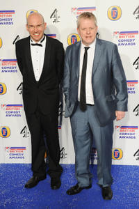 Alex MacQueen and Martin Trenaman at the British Comedy Awards 2011 in London.