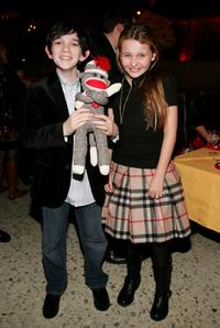 Zach Mills and Abigail Breslin at the after party of the world premiere of