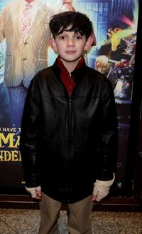 Zach Mills at the UK premiere of
