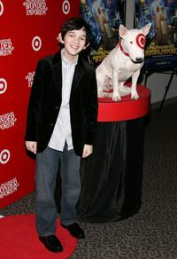 Zach Mills at the premiere of
