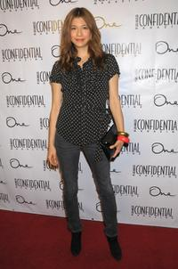 Maya Hazen at the Los Angeles Confidential Magazine and Niche Media's celebration.