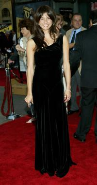 Maya Hazen at the World premiere of