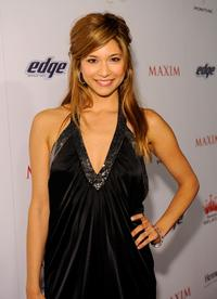 Maya Hazen at the Maxim's 2008 Hot 100 party.