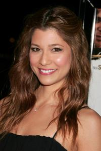 Maya Hazen at the screening of