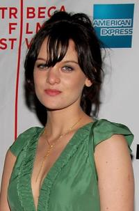 Frankie Shaw at the premiere of