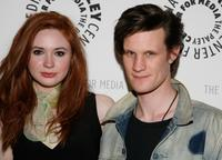 Karen Gillan and Matt Smith at the New York screening of