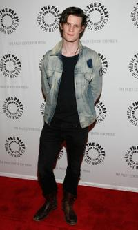 Matt Smith at the New York screening of