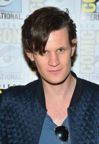 Matt Smith at the press line of