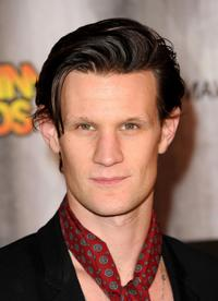 Matt Smith at the Spike TV's