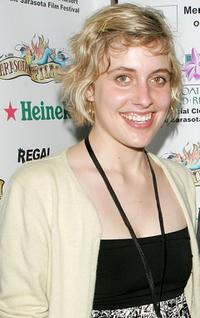 Greta Gerwig at the Sarasota Film Festival World Cinema Celebration.