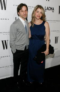 Breckin Meyer and Deborah Kaplan at the Inaugural Avant-Garde Gala.