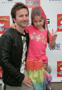 Breckin Meyer and Caitlin Meyer at the 3rd Annual Kidstock Music and Art Festival.