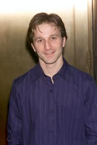 Breckin Meyer at the NBC upfront.
