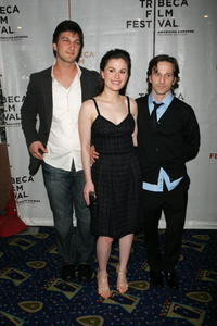 Marshall Lewy, Anna Paquin and Breckin Meyer at the premiere of