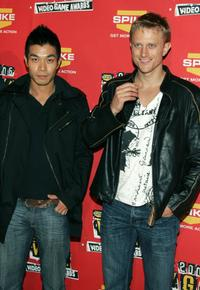 Nelson Lee and Neil Jackson at the 4th Annual Spike TV 2006 Video Game Awards.