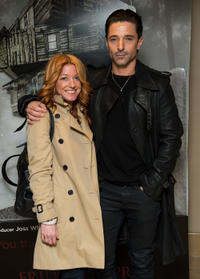 Michelle Butterly and Jake Canuso at the London premiere of