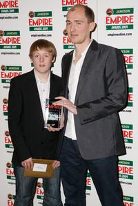 Thomas Turgoose and James Watkins at the Jameson Empire Awards 2009.