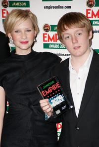Joanna Page and Thomas Turgoose at the Jameson Empire Awards 2009.
