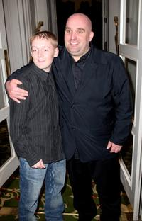 Thomas Turgoose and Shane Meadows at the Sony Ericsson Empire Awards 2008.