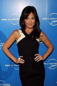 Minka Kelly at the NBC Universal Experience.