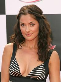 Minka Kelly at the premiere of