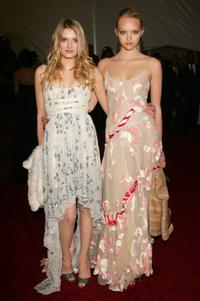 Lily Donaldson and Gemma Ward at the Metropolitan Museum of Art Costume Institute Benefit Gala: Anglomania.