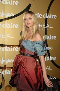 Gemma Ward at the 5th Marie Claire Magazine Awards.