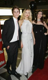 Rhys Wakefield, Gemma Ward and Elissa Down at the Sydney premiere of