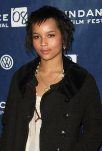 Zoe Kravitz at the premiere of