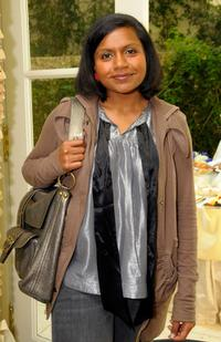 Mindy Kaling at the 2008 World Experience DPA gift lounge.