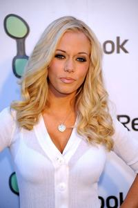 Kendra Wilkinson at the Reebok EasyTone Footwear Celebration.