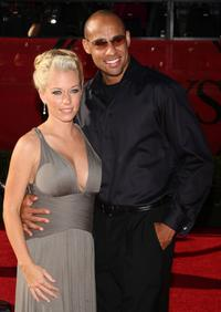Kendra Wilkinson and Hank Baskett at the 2009 ESPY Awards.